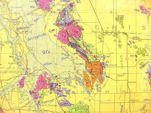 Cochise college - Geological survey and mines bureau ...