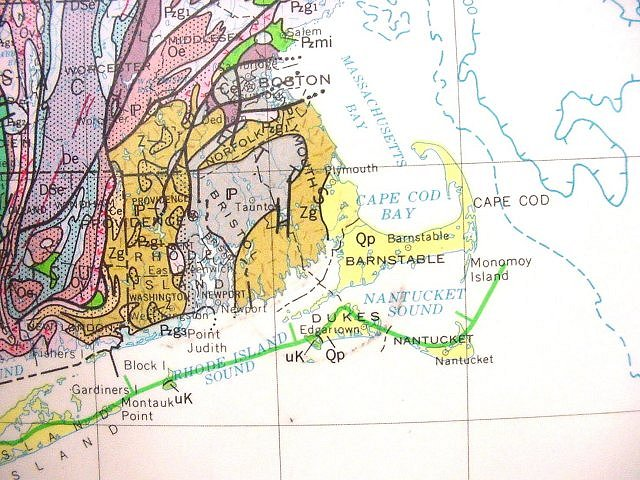 Dos Cabezas MountainsGeologic M - Us map cape cod